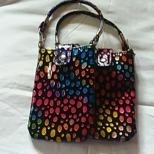 2 Small colorful bags